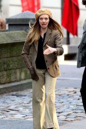 "Amanda Seyfried - Filming ""Things Heard and Seen"" in NY 11/25/2019"