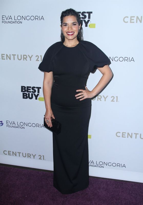 America Ferrera – The Eva Longoria Foundation Gala in Los Angeles 11/15/2019