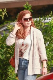 Amy Adams - Out for Lunch in Toluca Lake 11/15/2019