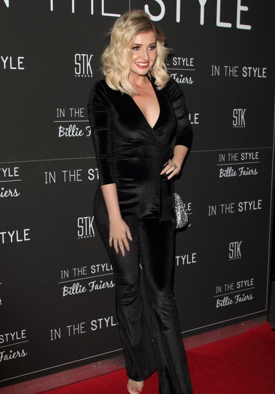 Amy Hart - In The Style x Billie Faiers Launch Event 11/18/2019