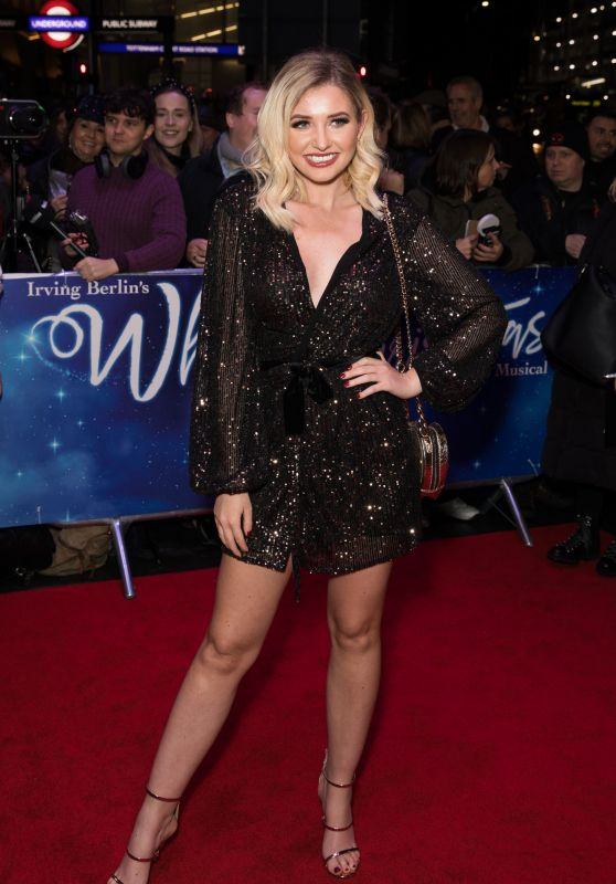 Amy Hart – White Christmas Musical Press Night in London 11/25/2019
