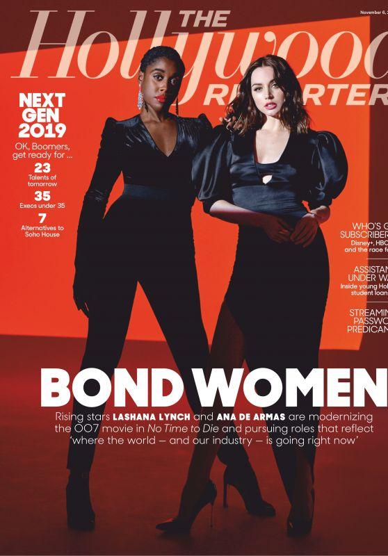Ana de Armas and Lashana Lynch - The Hollywood Reporter 11/06/2019 Issue