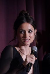 """Ana de Armas - """"Knives Out"""" Premiere Panel and After Party 11/14/2019"""