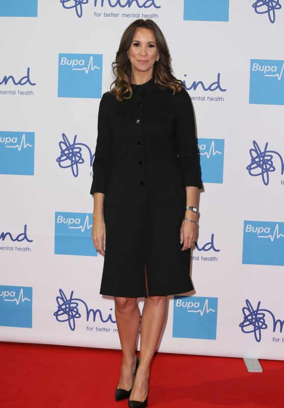 Andrea McLean – Bupa Mind Media Awards 2019