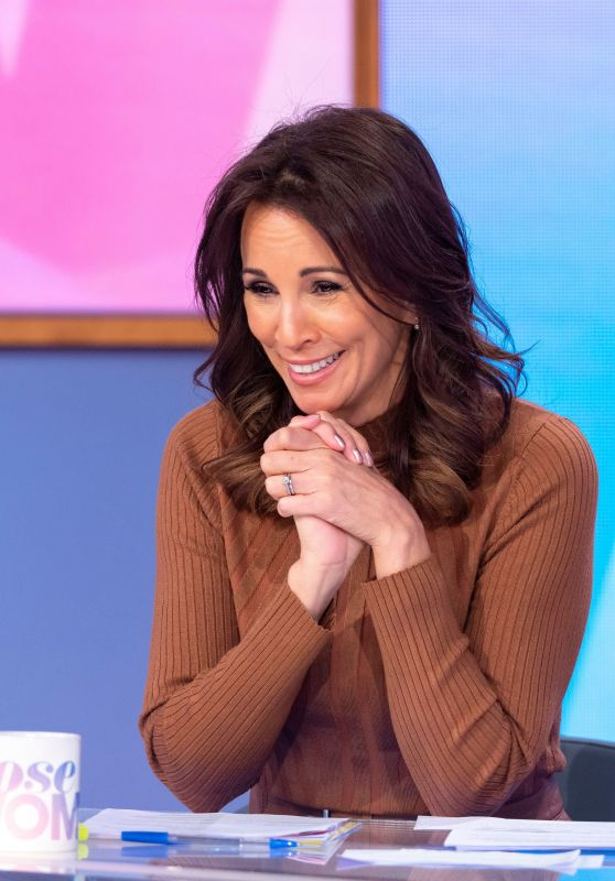 "Andrea McLean - ""Loose Women"" TV Show in London 14/11/2019"