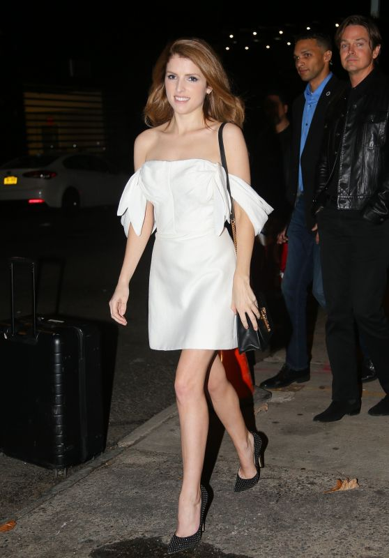 Anna Kendrick - Daily Show With Trevor Noah in NYC 11/11/2019