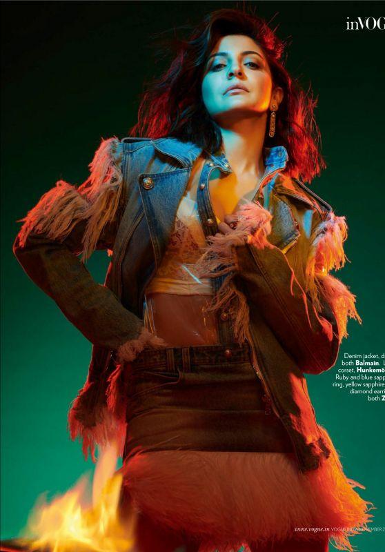 Anushka Sharma - Vogue Magazine India November 2019 Issue