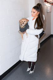 Ariana Grande - Backstage at Her Sweetener World Tour Concert in Charlottesville