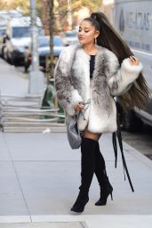 Ariana Grande Style - Out in NYC 11/09/2019