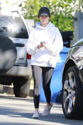 Ashley Tisdale in Tights - Out in Los Angeles 10/31/2019