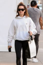 Ashley Tisdale - Shopping at the Gucci Store in Beverly Hills 11/13/2019