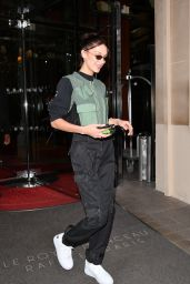 Bella Hadid - Leaving Her Hotel in Paris 11/14/2019