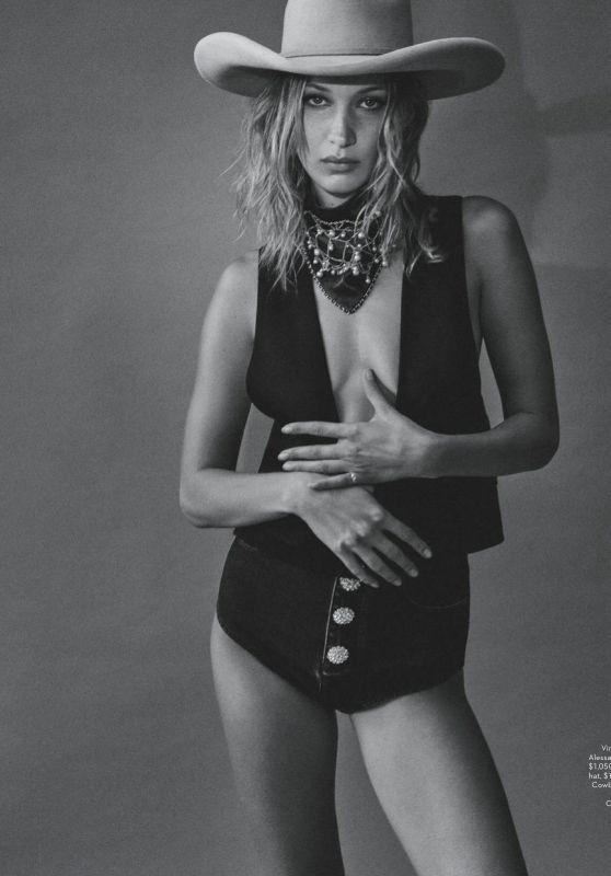 Bella Hadid - Vogue Magazine Australia November 2019 Issue