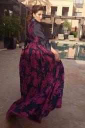 Blanca Blanco - Photoshoot at the 18th Marrakech International Film Festival