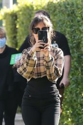 Camila Cabello - FaceTimes Shawn Mendes in West Hollywood 11/06/2019