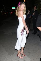 Candice Swanepoel - Outside Cipriani in NYC 11/04/2019