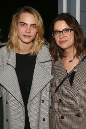 """Cara Delevingne and Ashley Benson - Backstage at the New Alanis Morissette Musical """"Jagged Little Pill"""" on Broadway"""