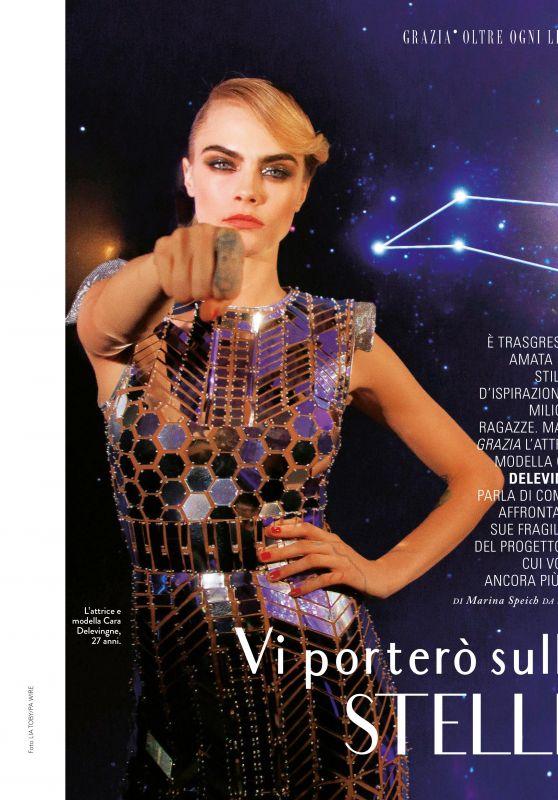 Cara Delevingne - Grazia Magazine Italy 11/07/2019