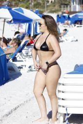 Carmen Valentina in a Bikini - Miami Beach 10/31/2019