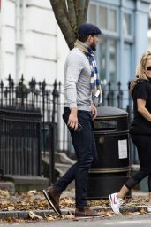 Caroline Flack and Lewis Burton - Out in London 11/28/2019