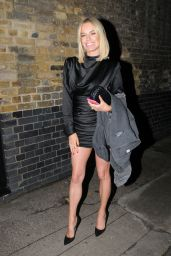 Caroline Stanbury Night Out Style - Chiltern Firehouse in London 11/01/2019