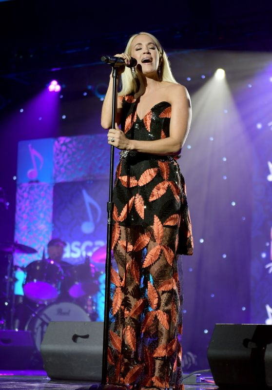 Carrie Underwood - Performs at ASCAP Country Music Awards in Nashville 11/11/2019
