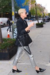 Charlize Theron Chic Style - New York City 11/12/2019