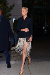 Charlize Theron - Heads to an Event in NYC 11/12/2019