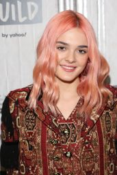 Charlotte Lawrence - BUILD Series in NYC 11/18/2019
