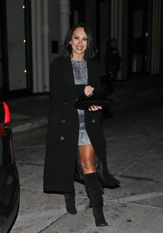 Cheryl Burke - Catch Restaurant in West Hollywood 11/26/2019