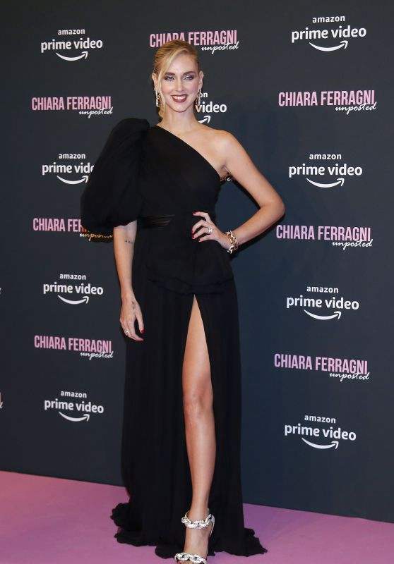 "Chiara Ferragni - ""Chiara Ferragni - Unposted"" Movie Premiere in Rome"