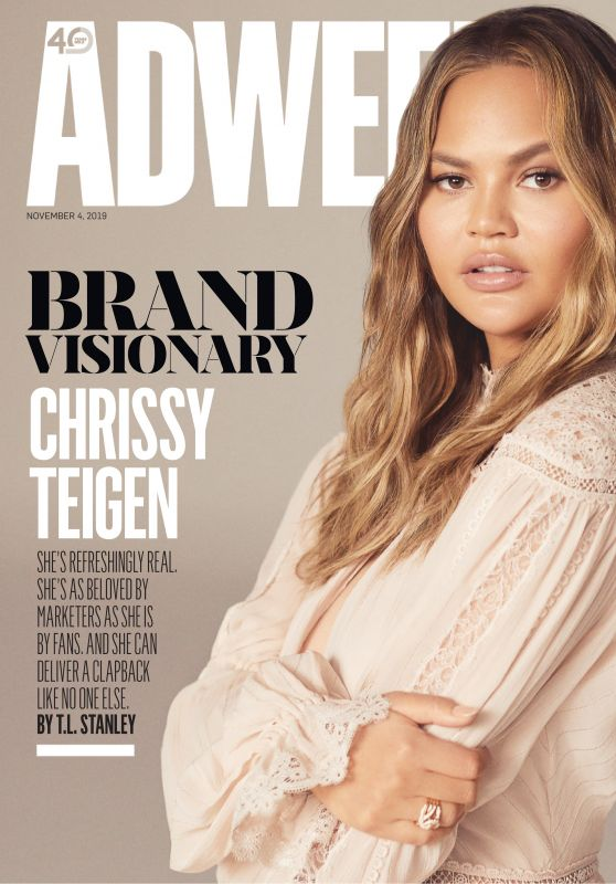 Chrissy Teigen - Adweek Magazine 11/04/2019 Issue