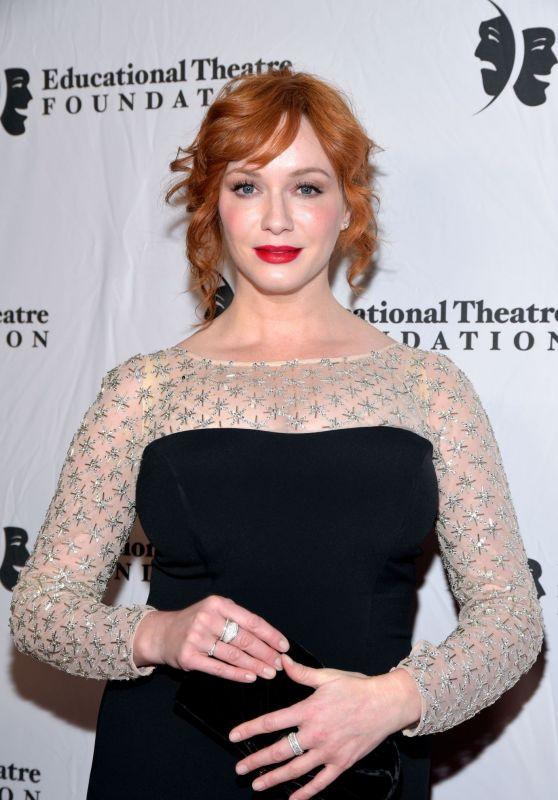 Christina Hendrics - Thespians Go Hollywood Gala 2019 in LA