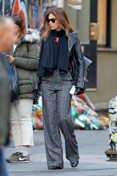 Cindy Crawford and Rande Gerber on a Stroll in NY 11/26/2019