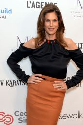 Cindy Crawford – Women's Guild Cedar's-Sinai Luncheon in LA