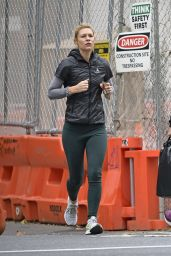 Claire Danes in Workout Gear 11/05/2019