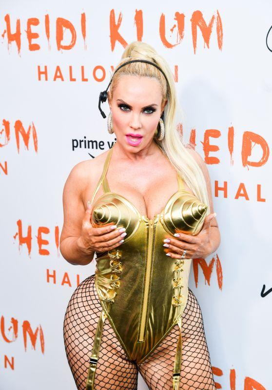 Coco Austin – Heidi Klum's 20th Annual Halloween Party in NY