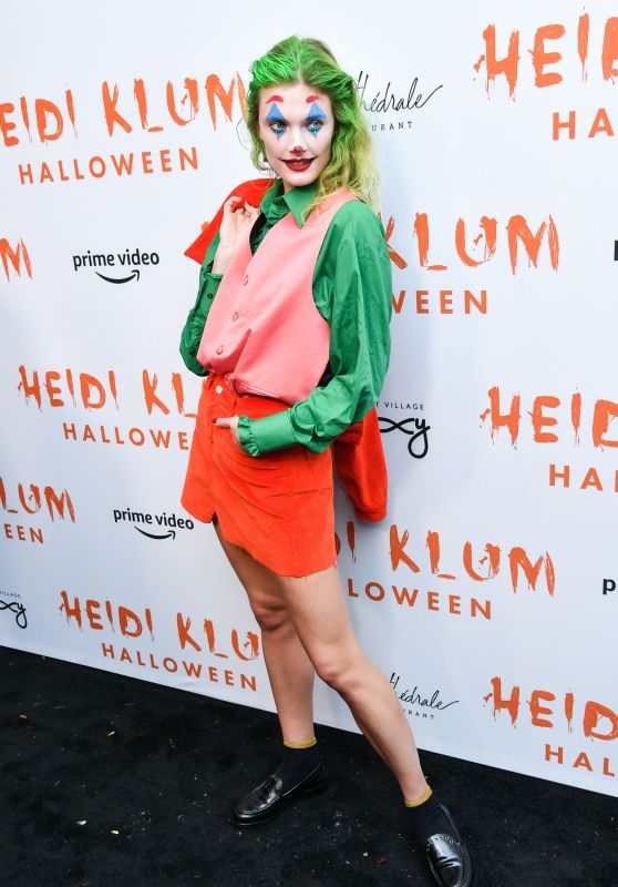Constance Jablonski – Heidi Klum's 20th Annual Halloween Party in NY