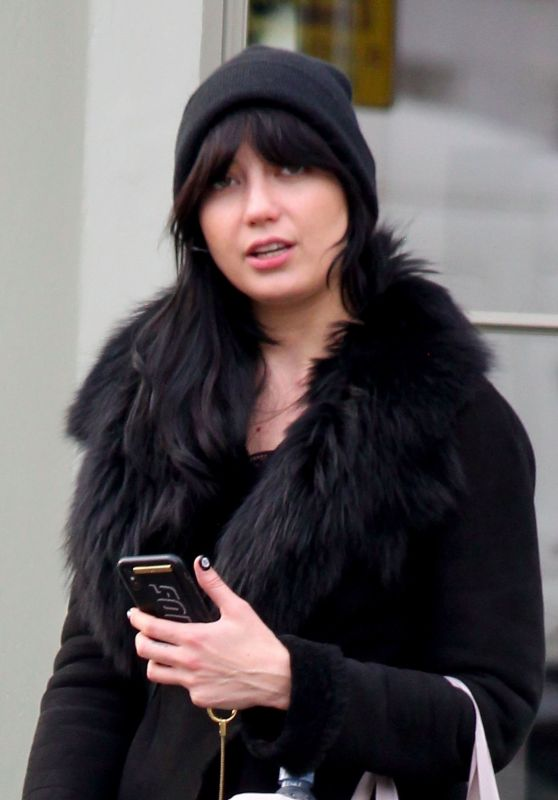 Daisy Lowe - Leaves NUYU Beauty Salon in London 11/19/2019