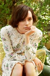 Daisy Ridley - Marie Claire Magazine Holiday 2019 Issue