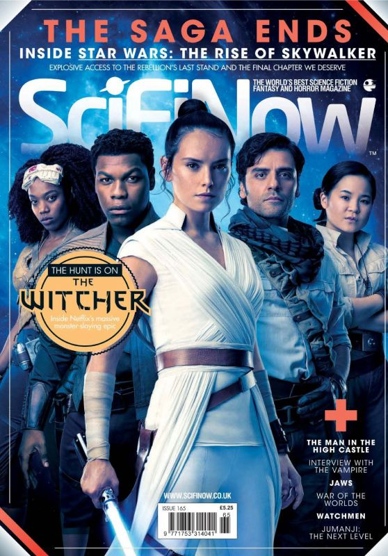 Daisy Ridley - SciFiNow Magazine Issue 165 January 2020