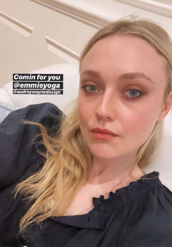 Dakota Fanning - Social Media 11/17/2019