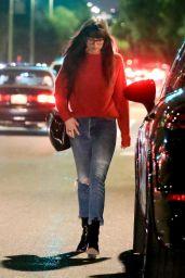 Dakota Johnson - Leaving Mèche Salon in Beverly Hills 11/21/2019
