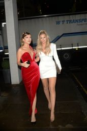 Danielle Sellers and Maria Wild – Arriving at The Beauty Awards 2019 with ASOS