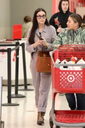 Demi Moore - Shopping at Target 11/27/2019