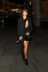 Demi Rose Night Out Style - Cafe Royal in London 11/14/2019