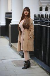 Demi Rose Street Style 11/14/2019