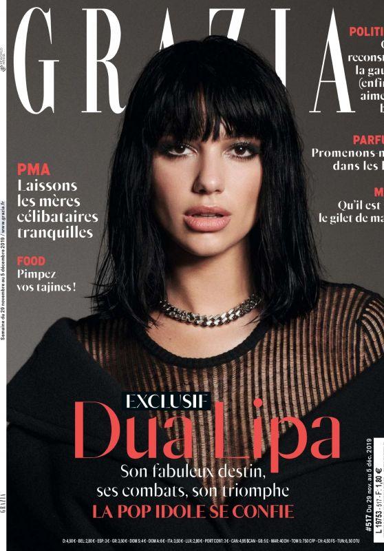 Dua Lipa - Grazia France 11/29/2019 Issue