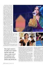 Dua Lipa - Rolling Stone India November 2019 Issue