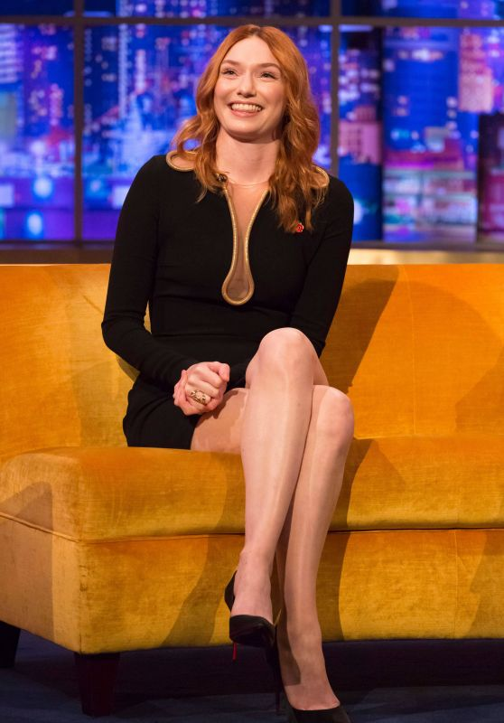 Eleanor Tomlinson - Jonathan Ross Show in London 11/09/19